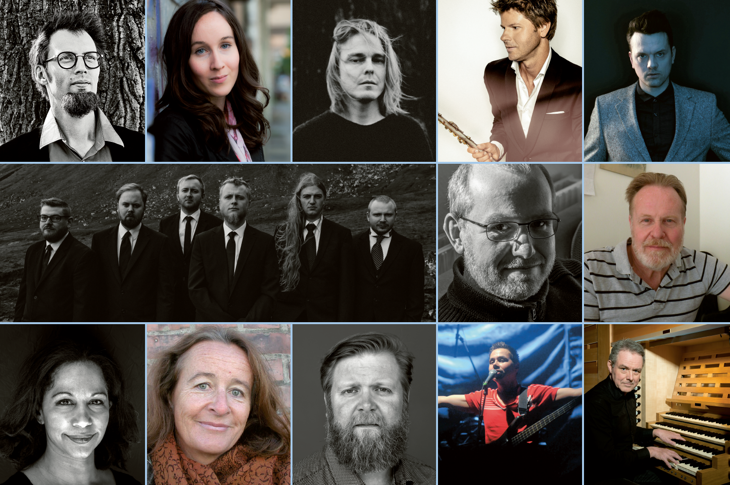 The nominees for the  Nordic Council Music Prize 2018 are...