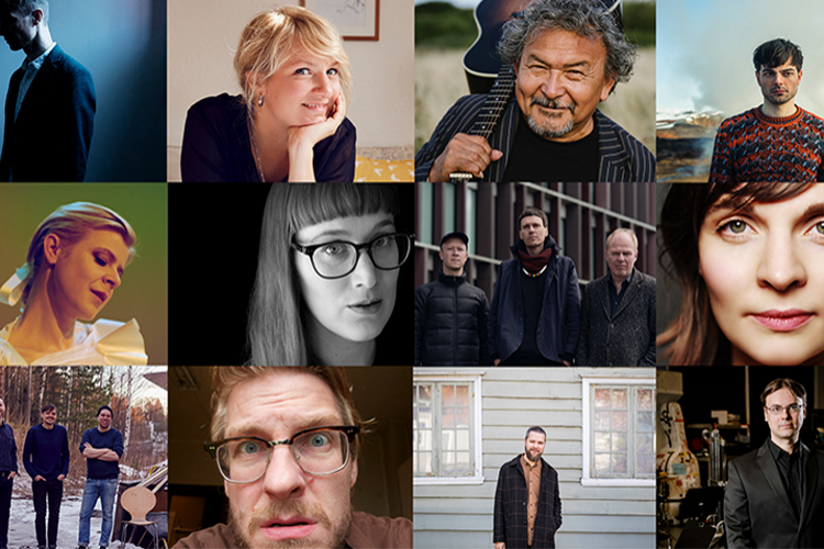 Meet the nominees for the  Nordic Council Music Prize 2020